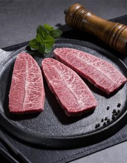 [무항생제] 녹색한우 부채살 300g(냉장)