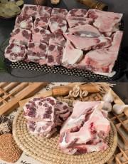 [무항생제] 녹색한우 꼬리+반골 7kg(냉동)